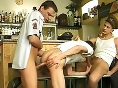 Uniformed Bar Room Boners - Derrick Girard, Patrick Doyle and Lyle Ticat