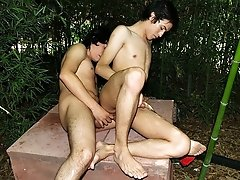 Horny Fucking In The Forest - Anibal And Julian