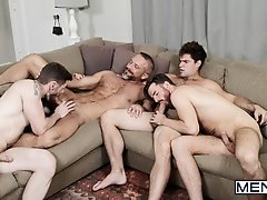 The In Laws Part 3 - Dennis West, Aspen, Dirk Caber, Brendan Patrick - JO- Jizz Orgy