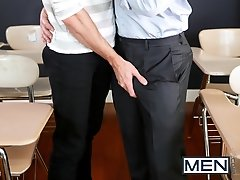 Straight A Student PART 3 - Jack Hunter and Dirk Caber - Big Dicks At School