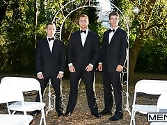 The Groomsmen Part 2 - Connor Maguire, Tommy Regan, JJ Knight - Str8 to Gay