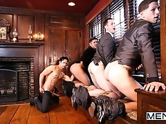 Godfather Part 4 - PHOTOS - Brenner Bolton - Rafael Alencar - Roman Todd - Seth Santoro  -  Jizz Orgy