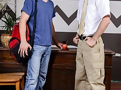 Teacher's Surprise - Johnny Rapid and Cameron Kincade - Big Dick's at School