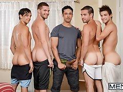 My Neighbour's Son Part 4 - Rafael Alencar  Dylan Knight, Jack Radley, Zac Stevens, and Johnny Rapid - Drill My Hole