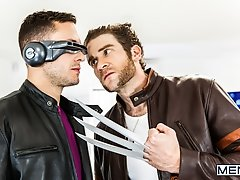 X-MEN A XXX Gay Porn Parody Part 1 - RAILER- Colby Keller and Brenner Bolton - SGH - Super Gay Hero