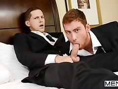The Groomsmen Part 3 - Roman Todd and Connor Maguire - Str8 to Gay