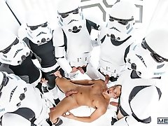 Star Wars Part 4 - Luke Adams, Paddy O'Brian and Hector de Silva  -  Jizz Orgy