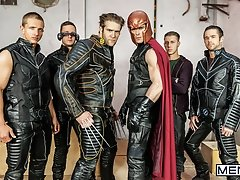 X-Men Part 4 - Paddy O'Brian, Brenner Bolton, Colby Keller, Paul Canon Landon Mycles andd Mike De Marko - SGH - Super Gay Hero