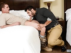 The Layover - Darin Silvers and Marcus Ruhl - Str8 to gay