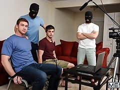 Stealing Johnny Part 3 - Johnny Rapid, Will Braun, Jason Maddox and Connor Maguire  -  Jizz Orgy