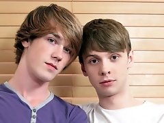Kai Gets The Big Uncut Cock Of Sexy James - Kai Alexander and James Radford - We would all love to take a ride on the big uncut cock of sweet young James